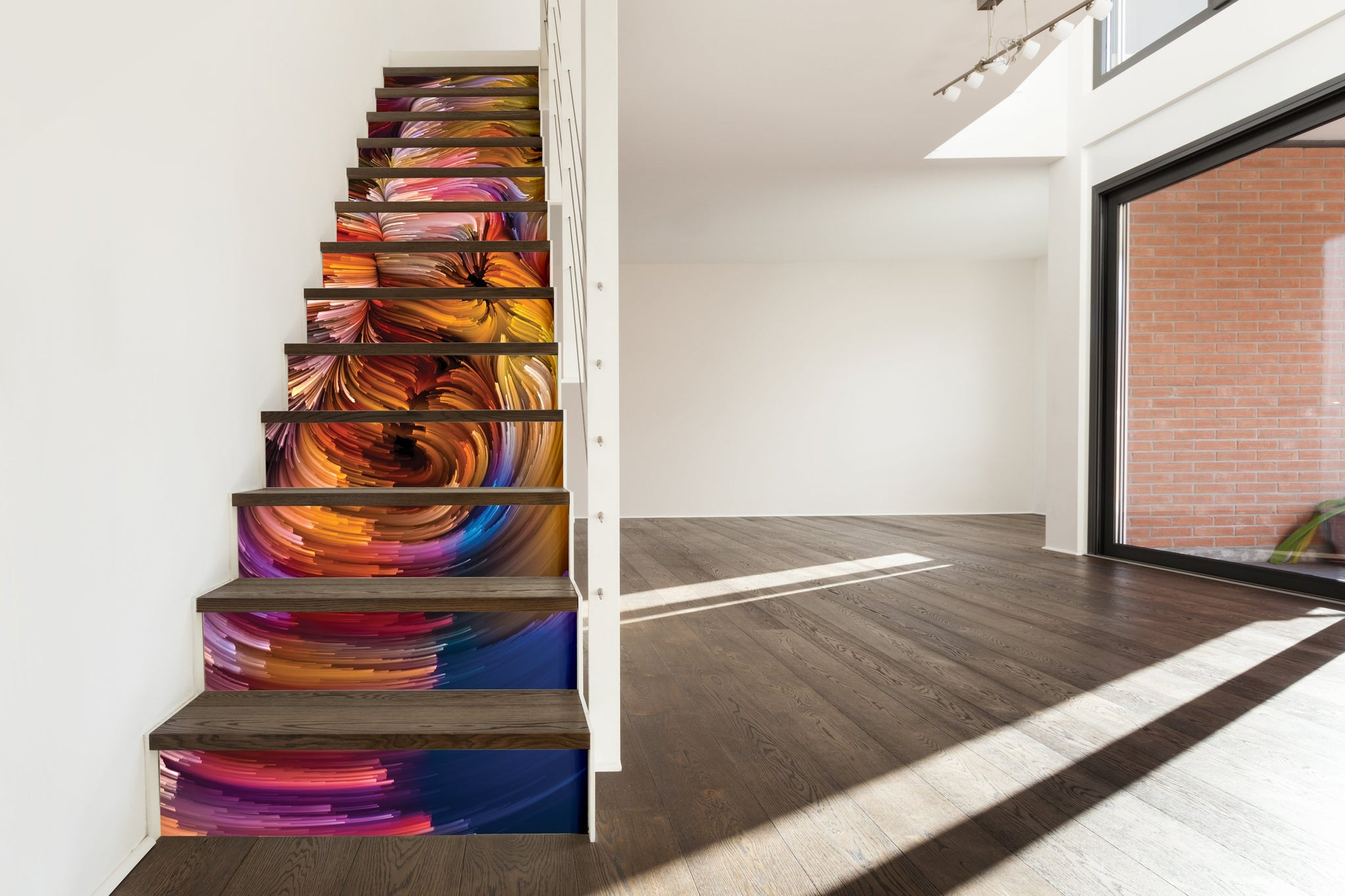 Abstract - Stickers for stairs NS005 - Art Life Decor