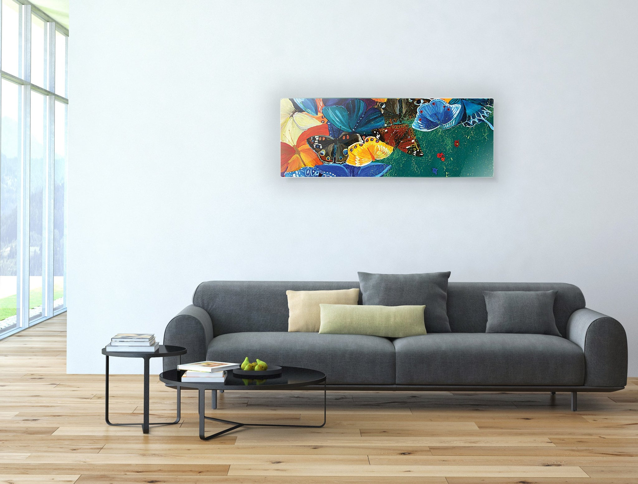 Art wall pictures colorful butterfly - AP046 - Art Life Decor