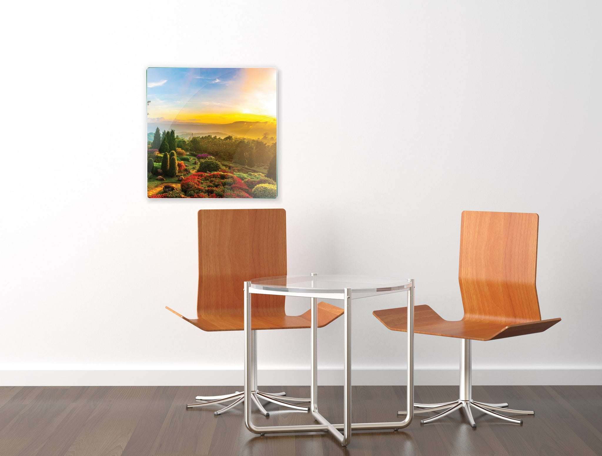 Art wall pictures Sunrise in a park - AP020 - Art Life Decor