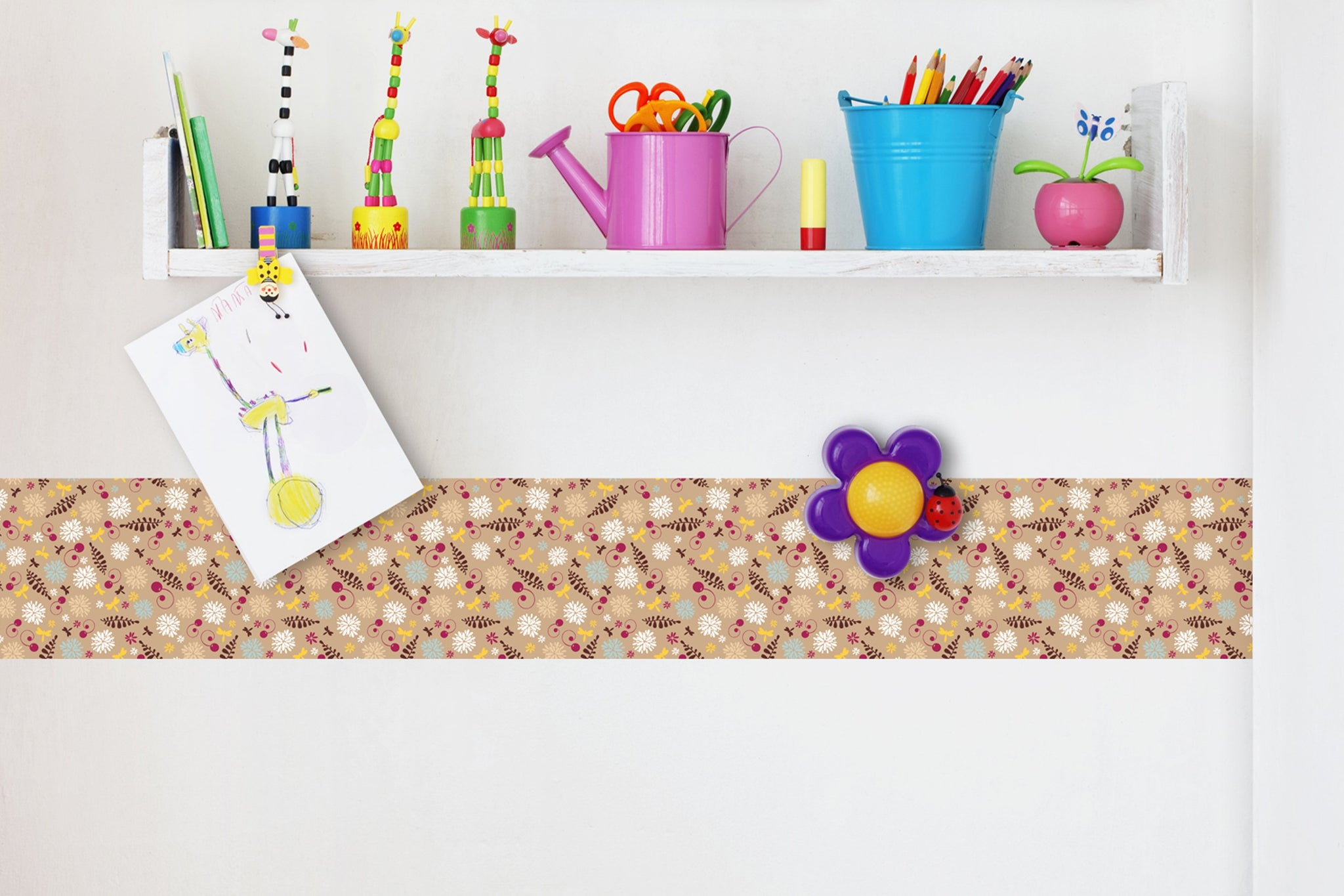 Self Adhesive Border  flovers BR033