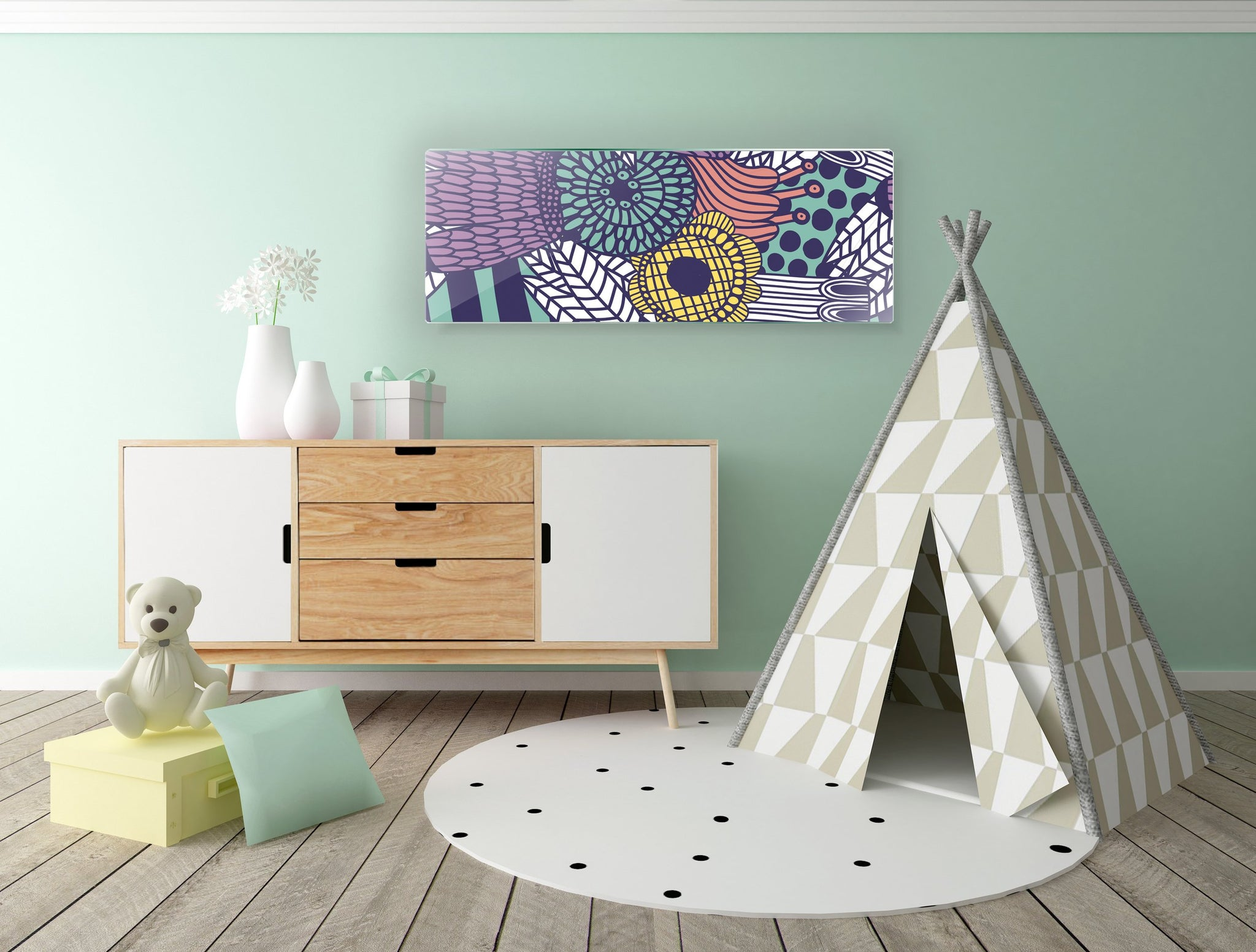Art wall pictures Field - AP073 - Art Life Decor