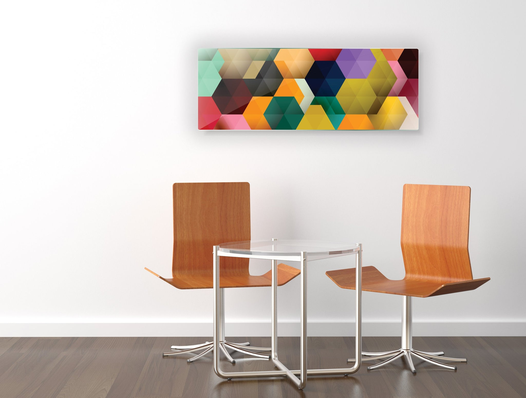 Art wall pictures rhomboid - AP057 - Art Life Decor