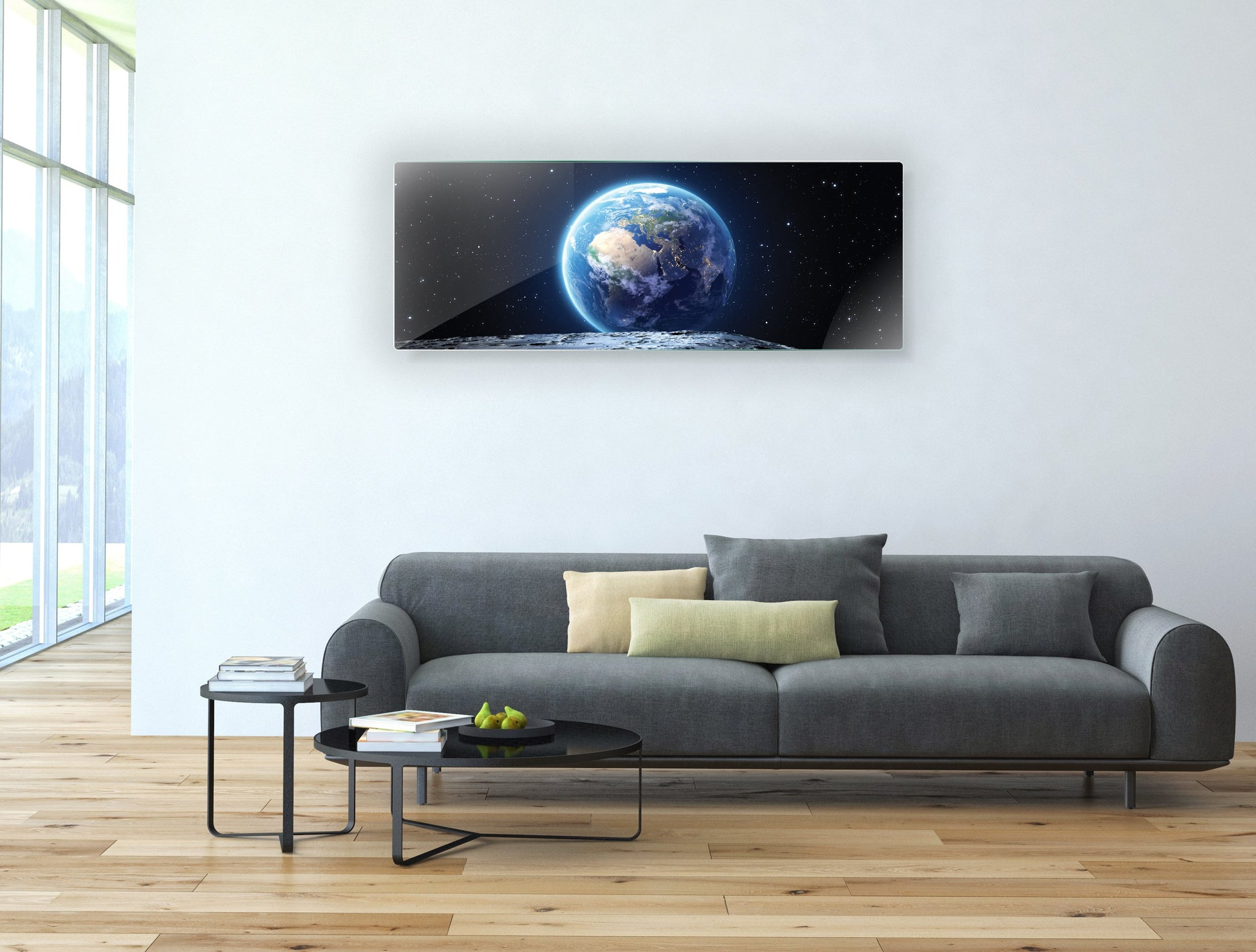 Art wall pictures Moon - AP050 - Art Life Decor