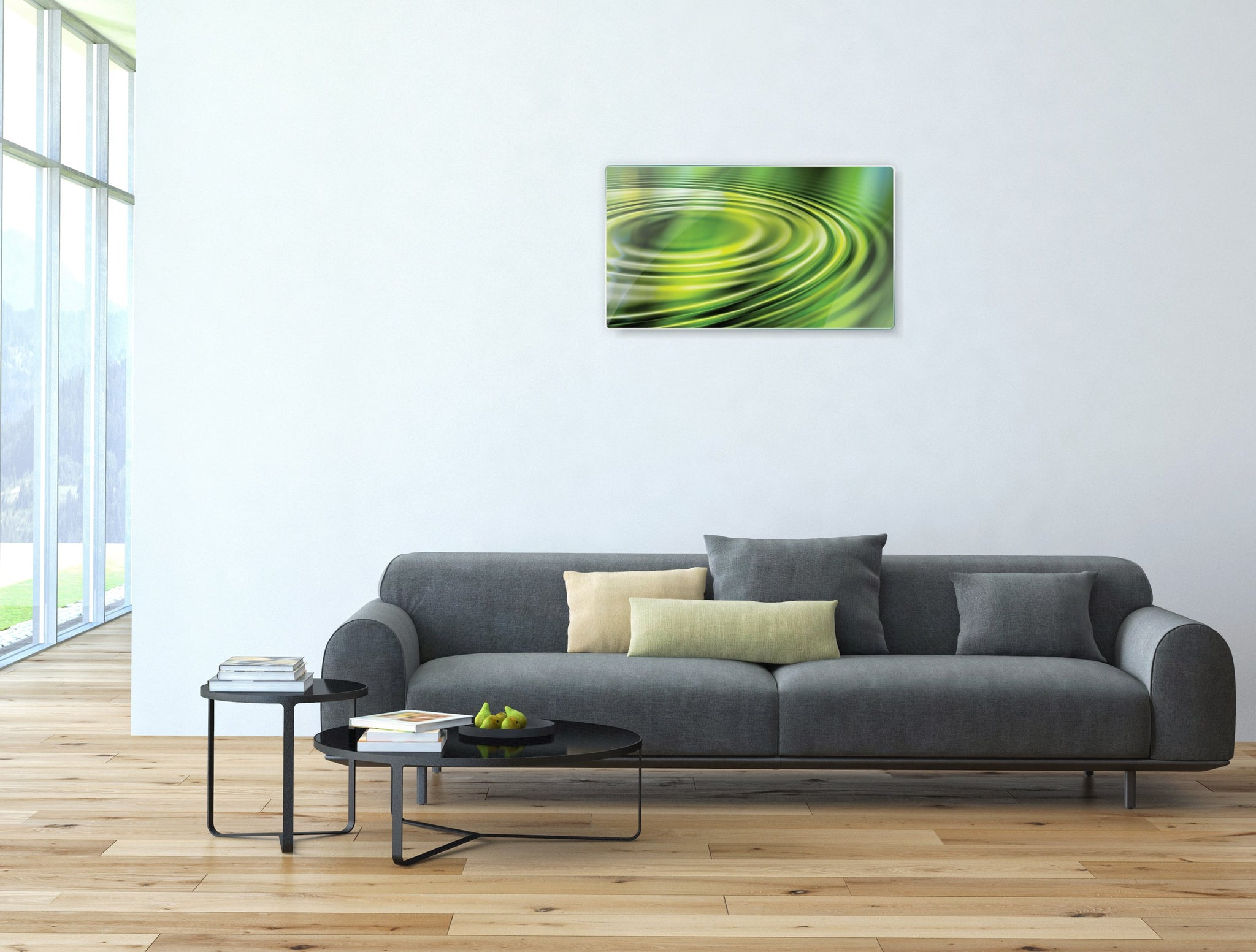 Art wall pictures Water circle - AP045 - Art Life Decor