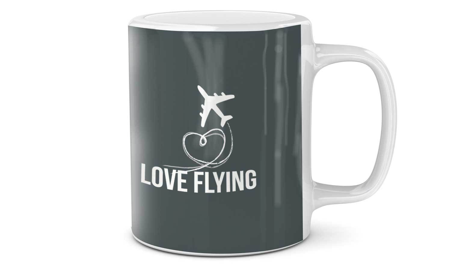 Mug Love Flying - SA076