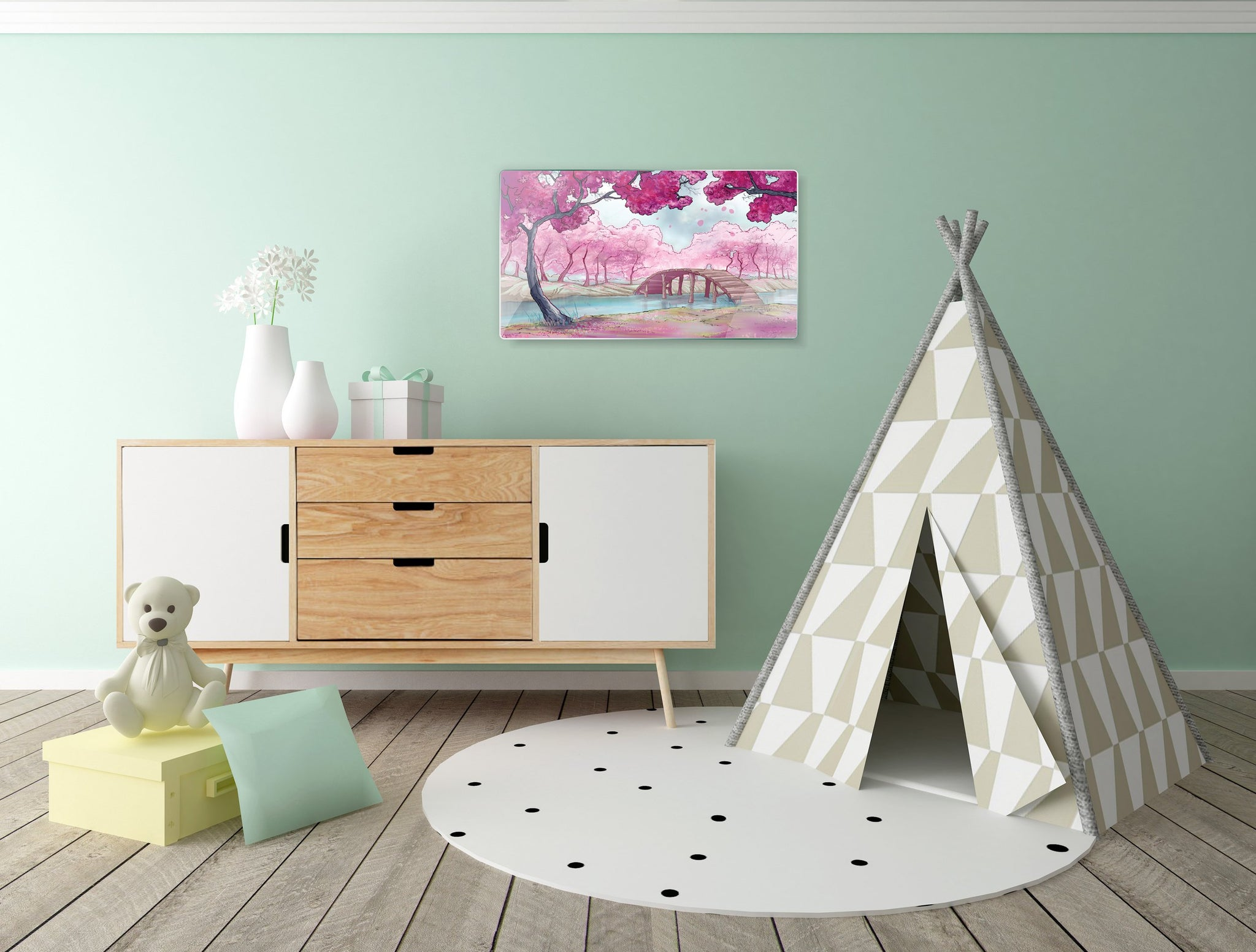 Art wall pictures Park - AP021 - Art Life Decor
