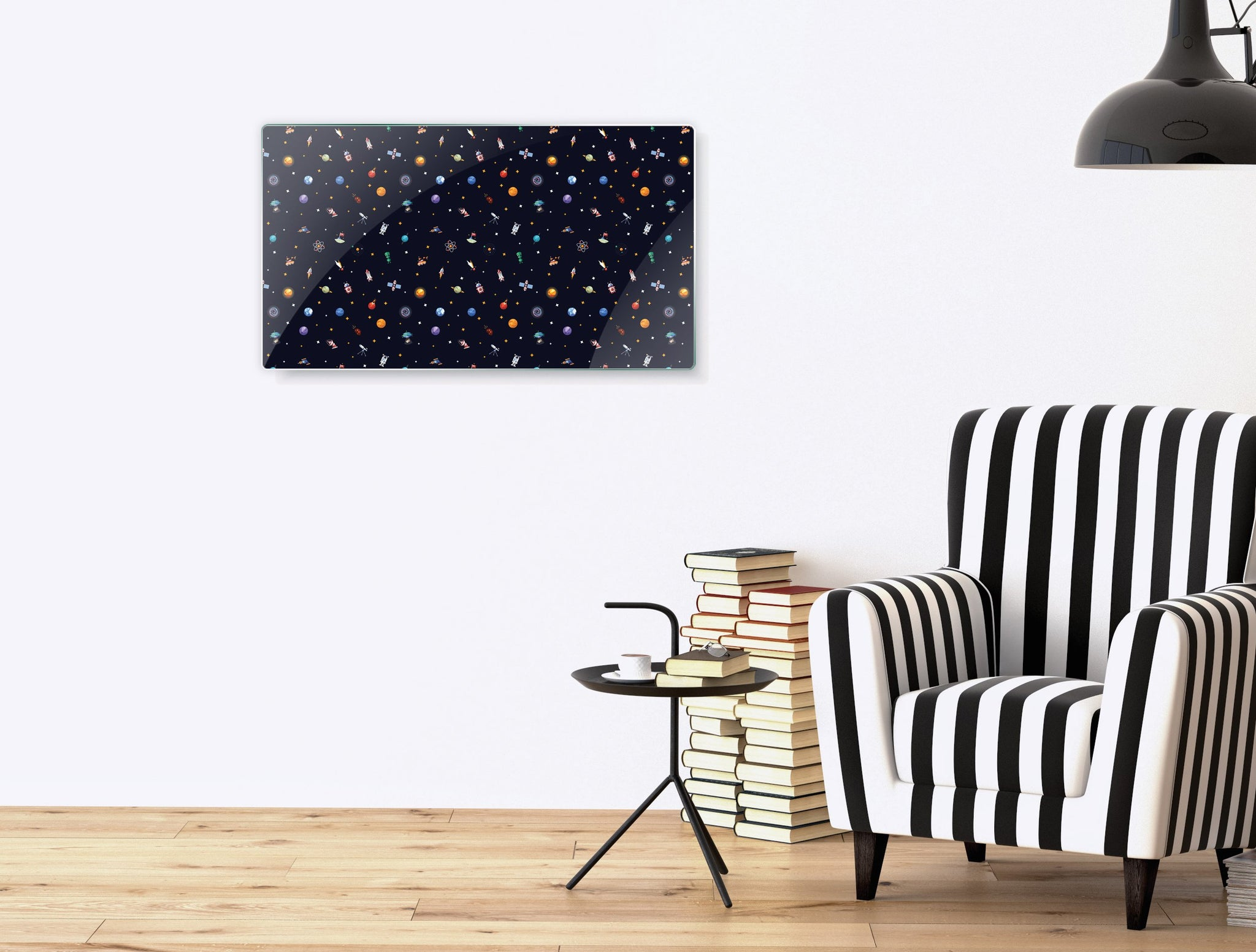 Art wall pictures space crowd - AP065 - Art Life Decor