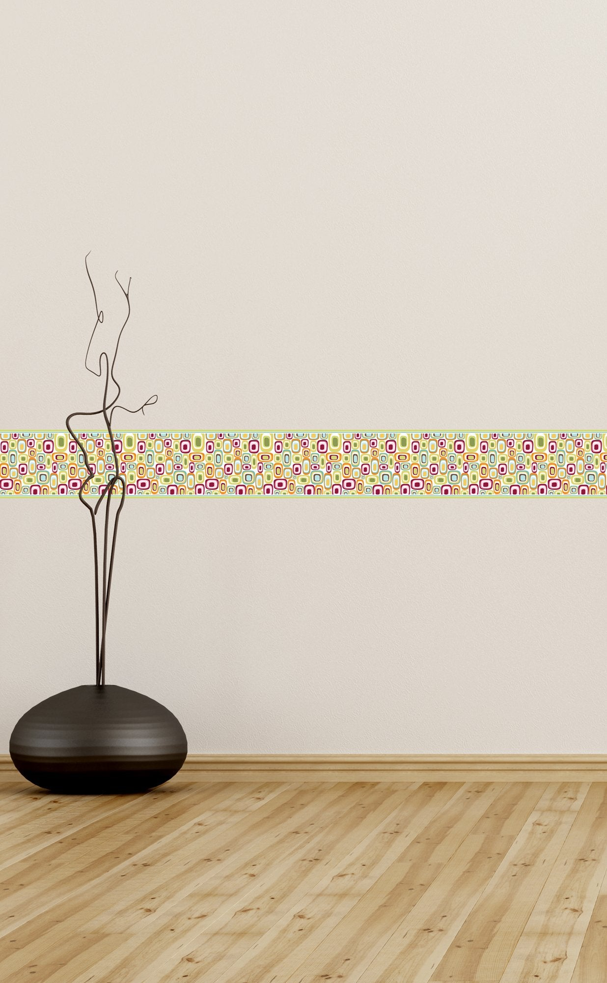 Self Adhesive Border   Shapes BR008
