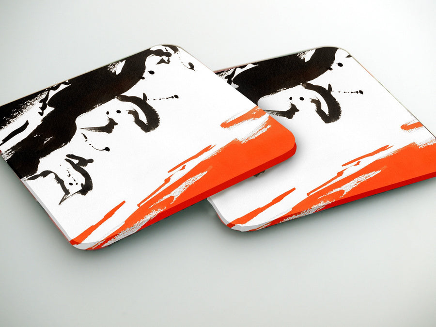 Coasters-  Bulls Set  CO025 - Art Life Decor