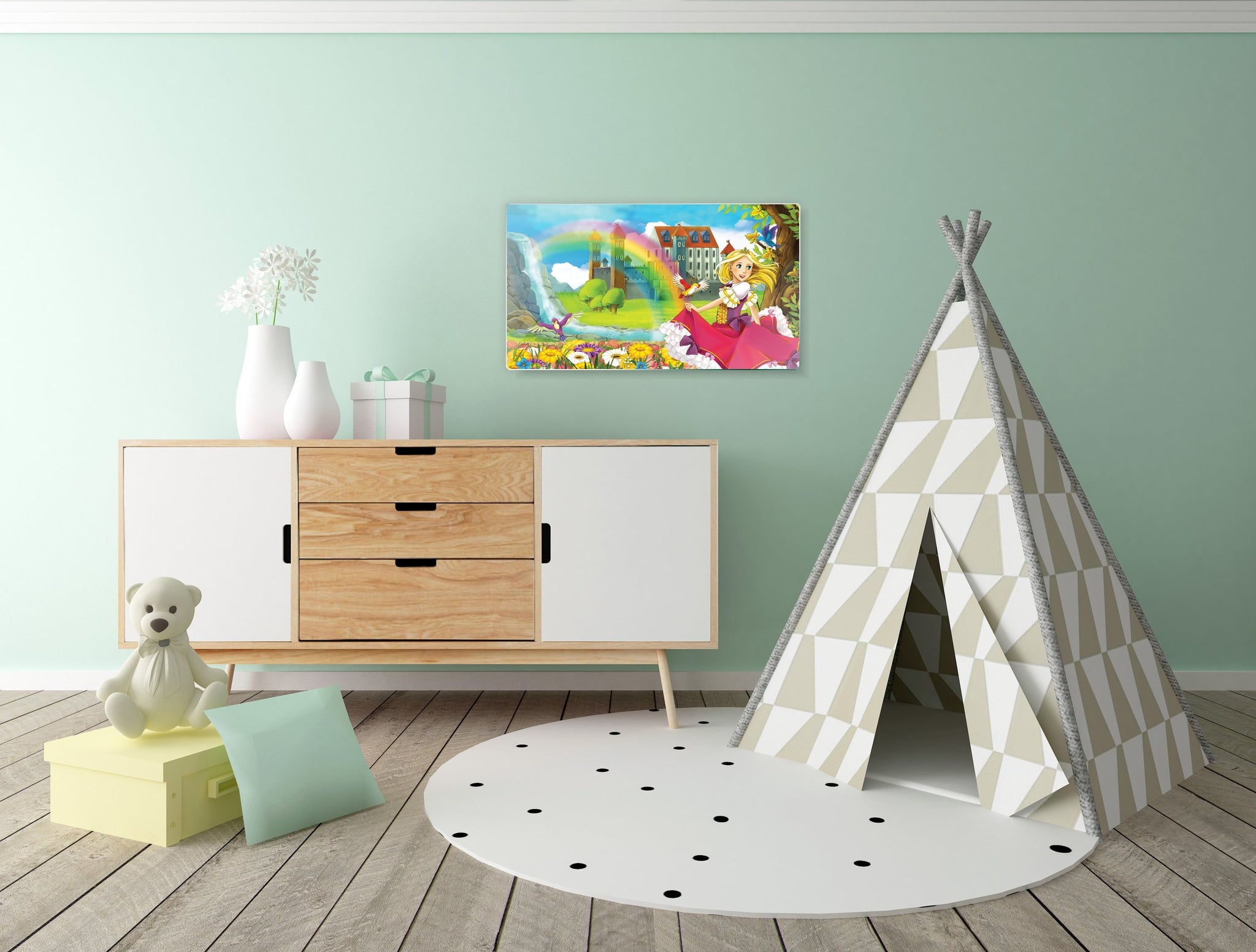Art wall pictures Princes - AP036 - Art Life Decor
