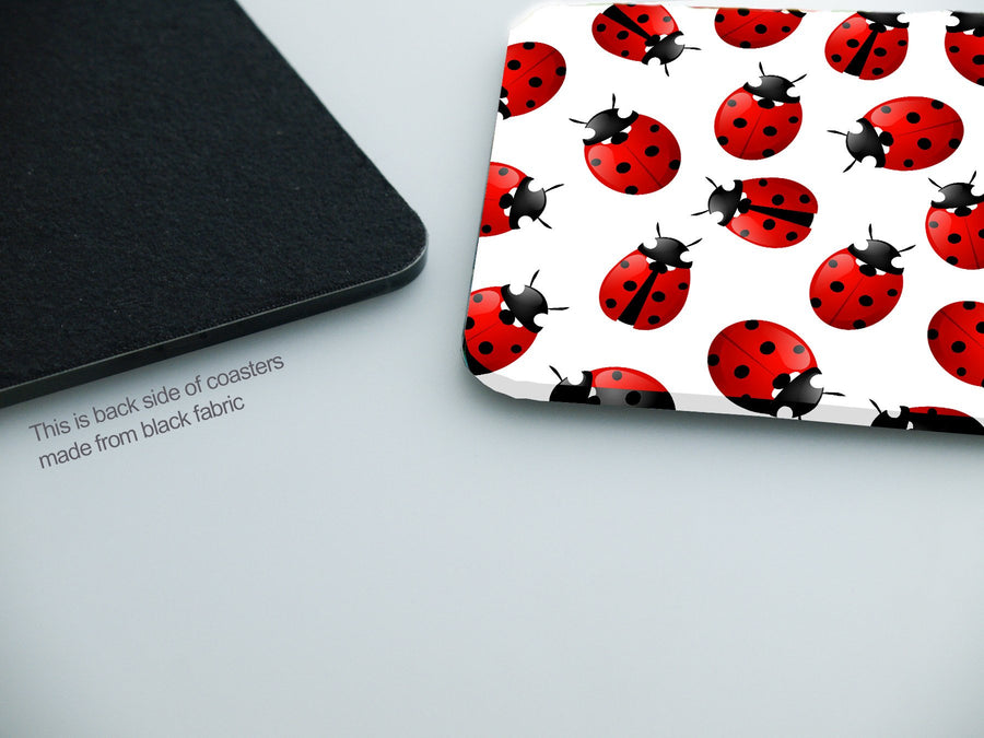 Coasters- Ladybug Color CO010 - Art Life Decor