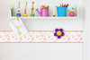 Self Adhesive Border   Flower BR001