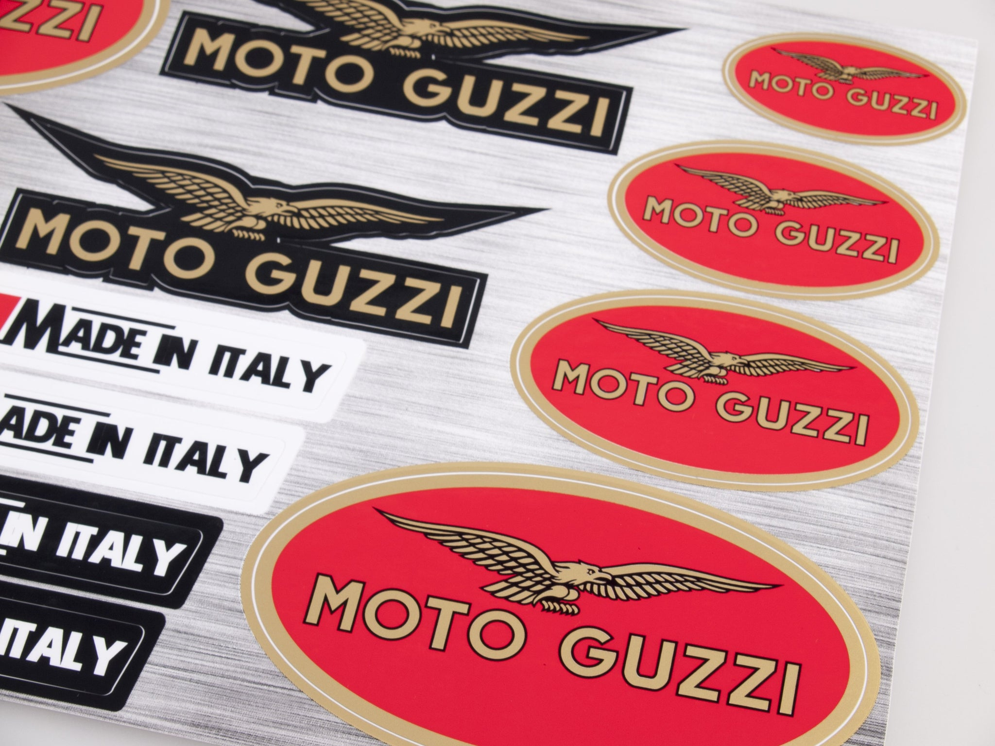 Moto Guzzi  sticker for motorcycle