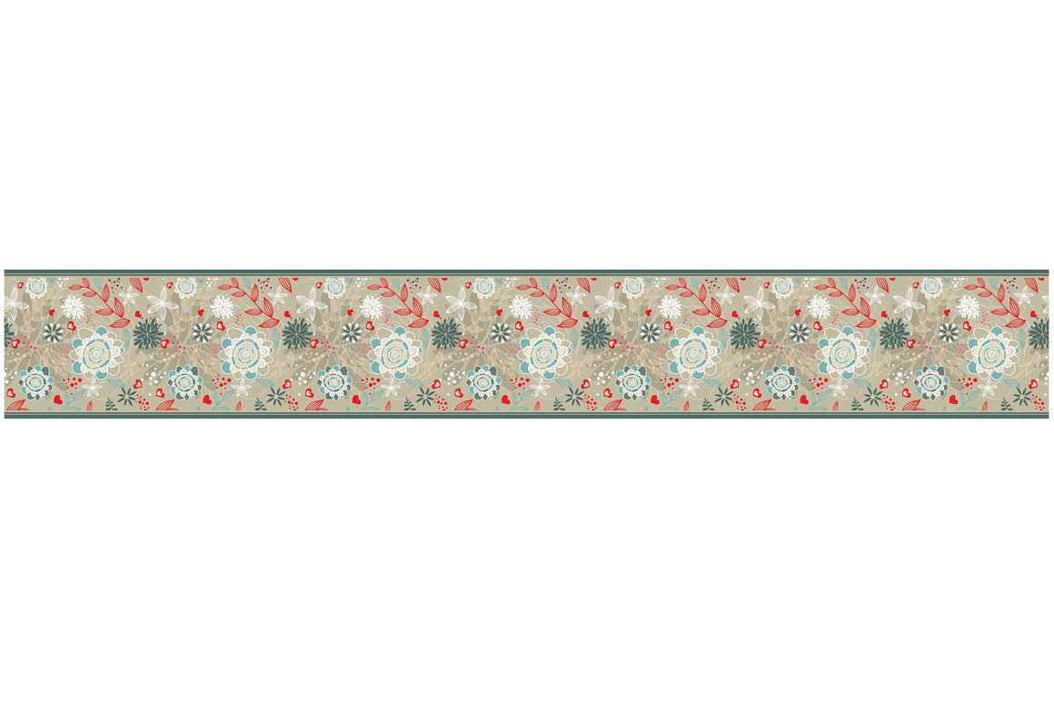 Self Adhesive Border Butterfly BR025