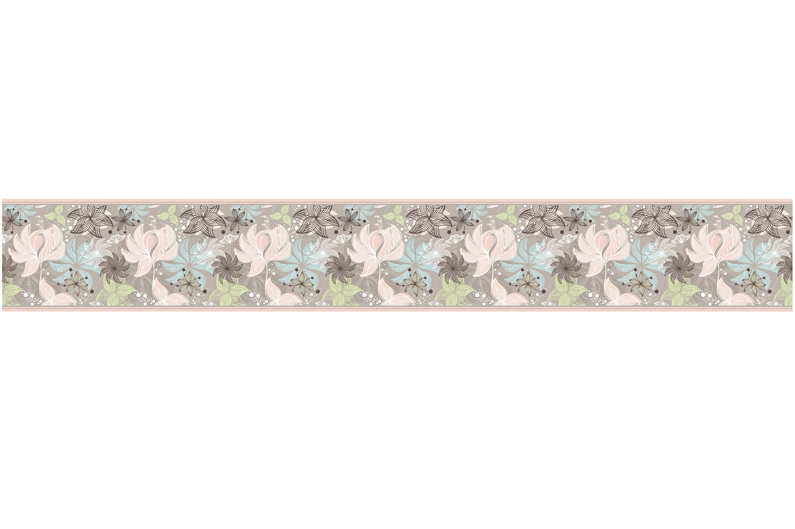 Self Adhesive Border  flovers BR032