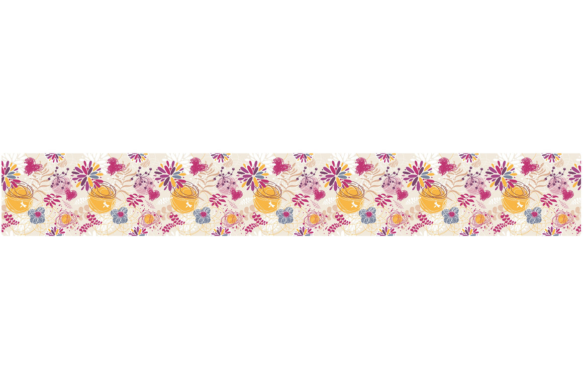 Self Adhesive Border  Summer BR030