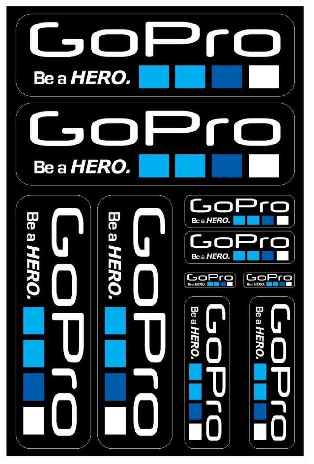 GoPro self-adhesive sticker for a bike - Art Life Decor