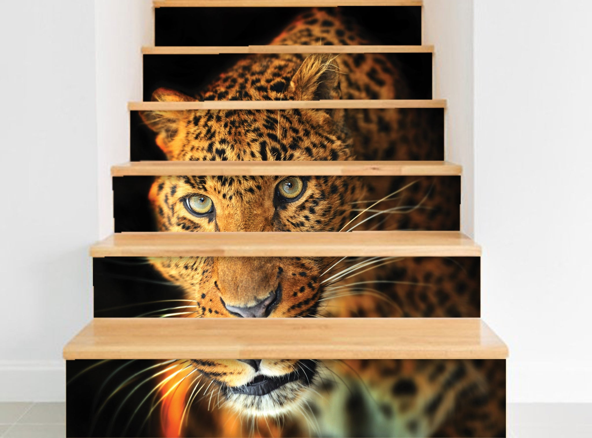 Leopard - Stickers for stairs NS018
