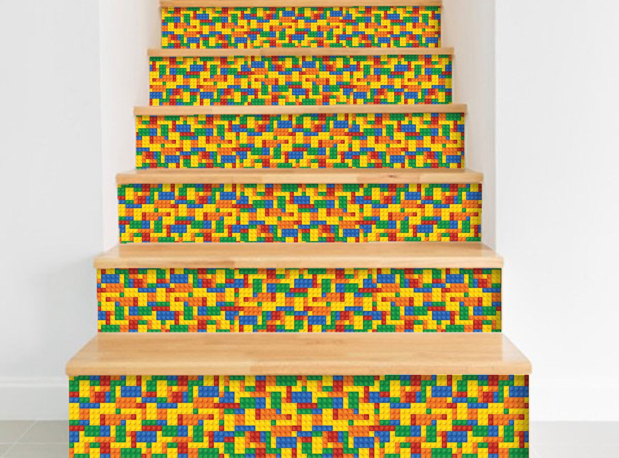 Lego- Stickers for stairs NS027