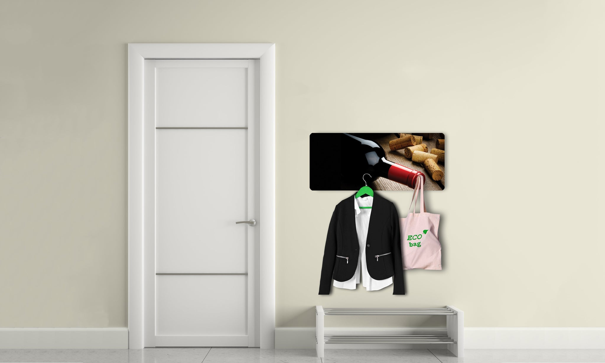 Art wall hangers wine - AV016 - Art Life Decor