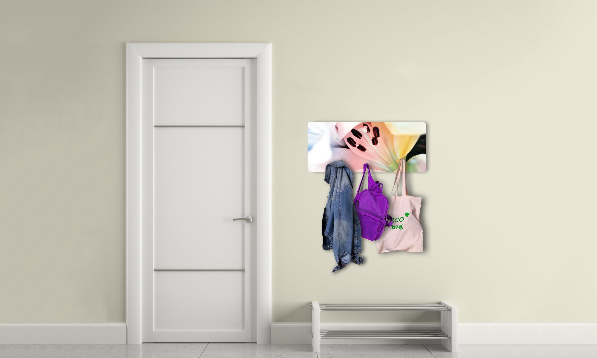 Art wall hangers flower - AV018 - Art Life Decor