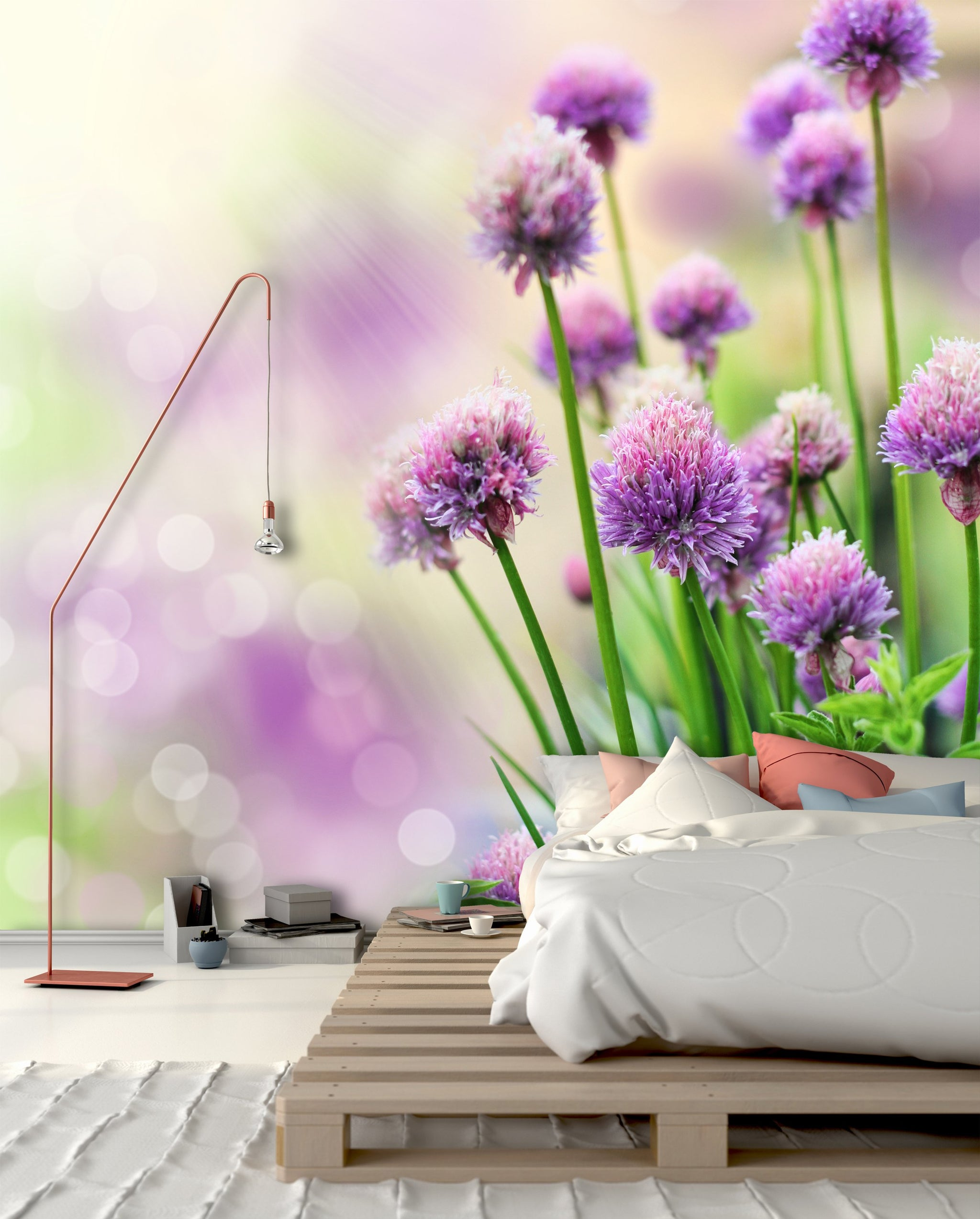 Wallpaper Chive flowers SW234