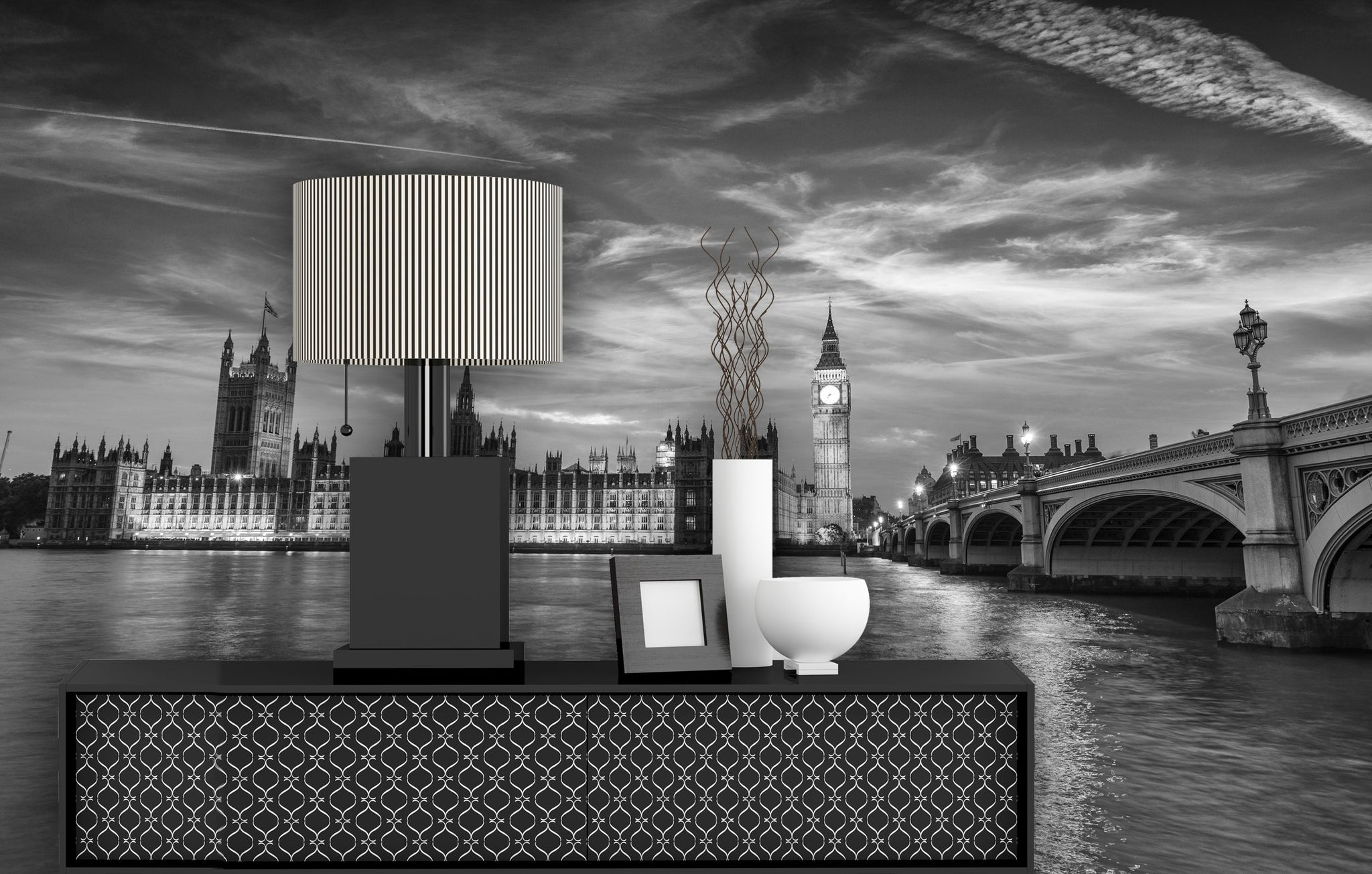 Wallpaper Westminster by night SW221