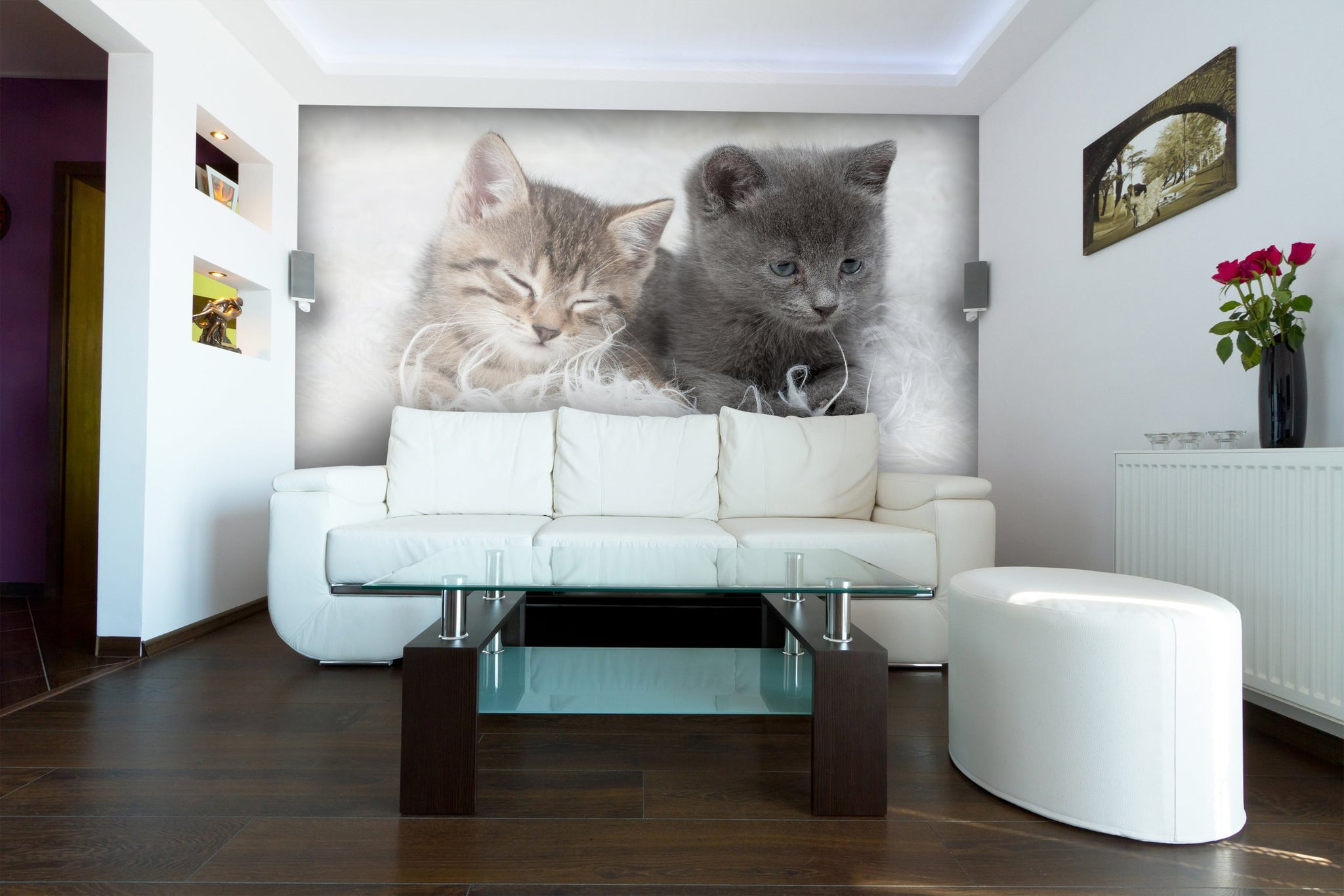 Wallpaper Little Kittens SW117