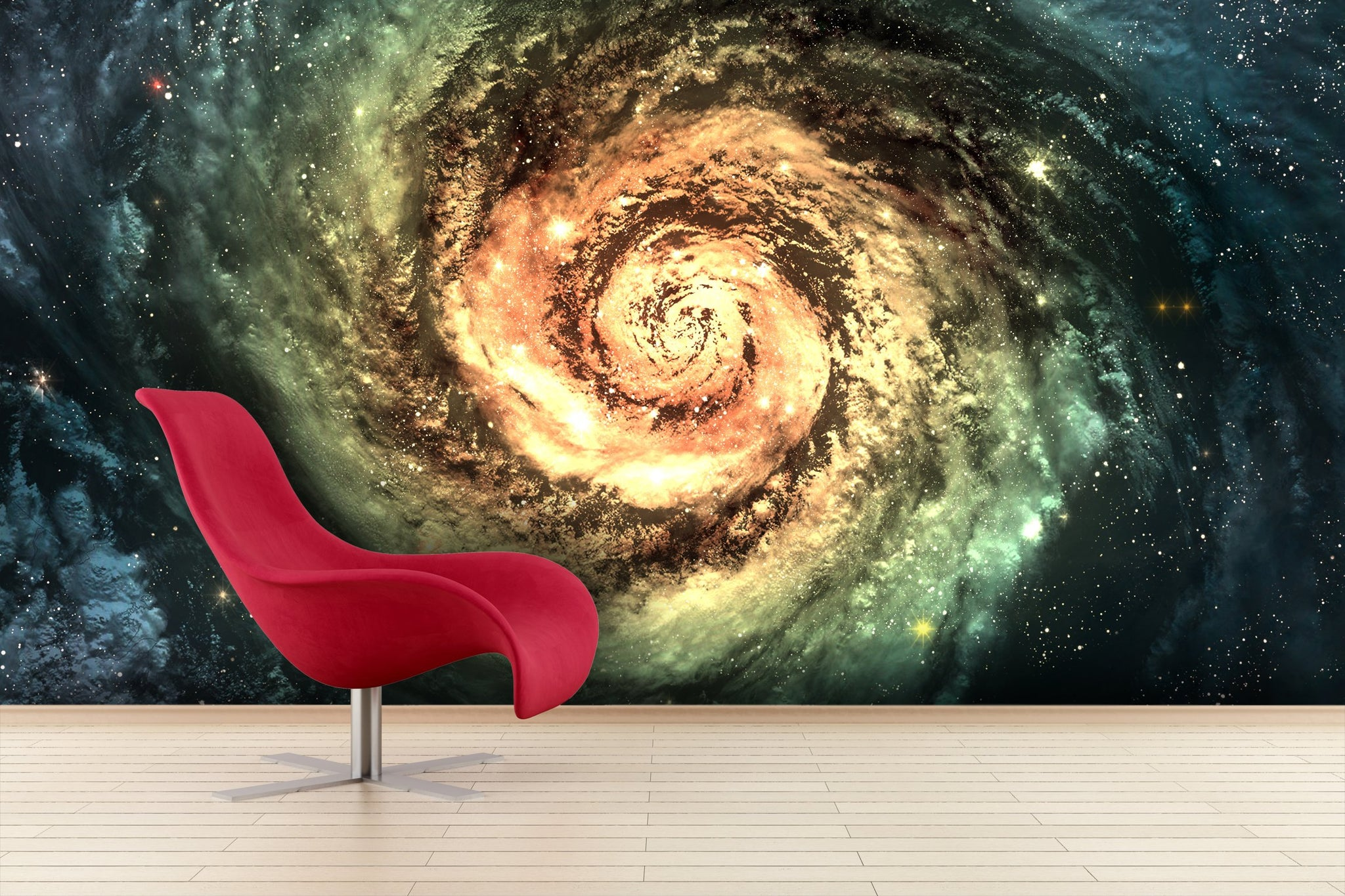 Wallpaper spiral galaxy SW047