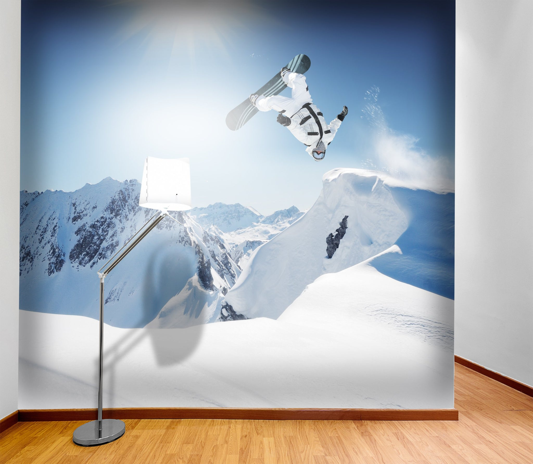 Wallpaper Snowboarder SW172