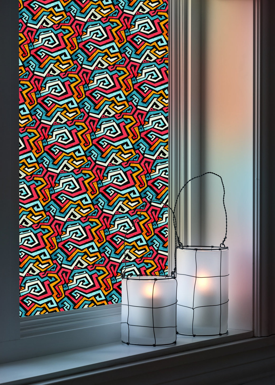 Graphic - Windows decoration WL012 - Art Life Decor