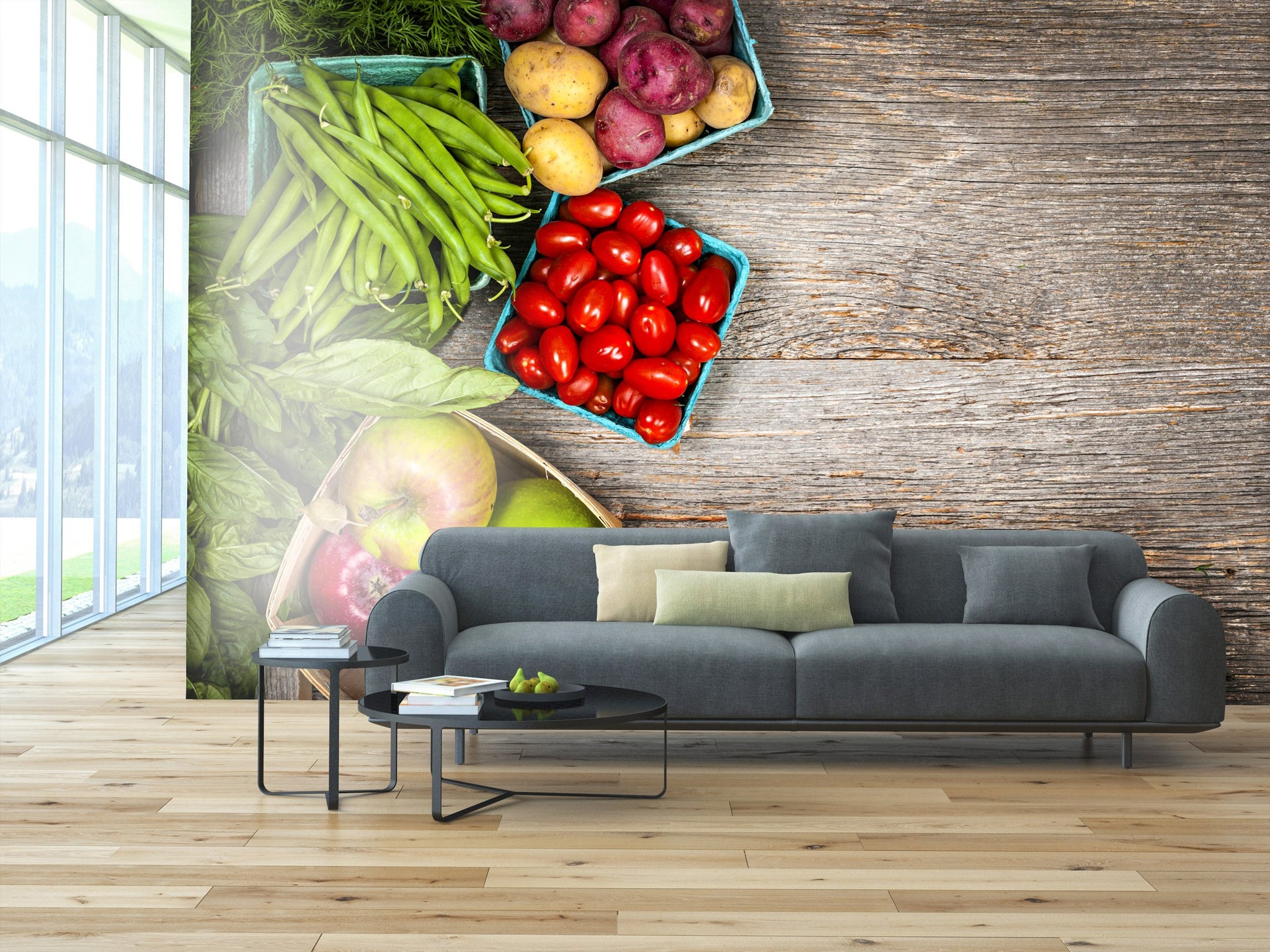 Wallpaper Fruits and vegetables SW187