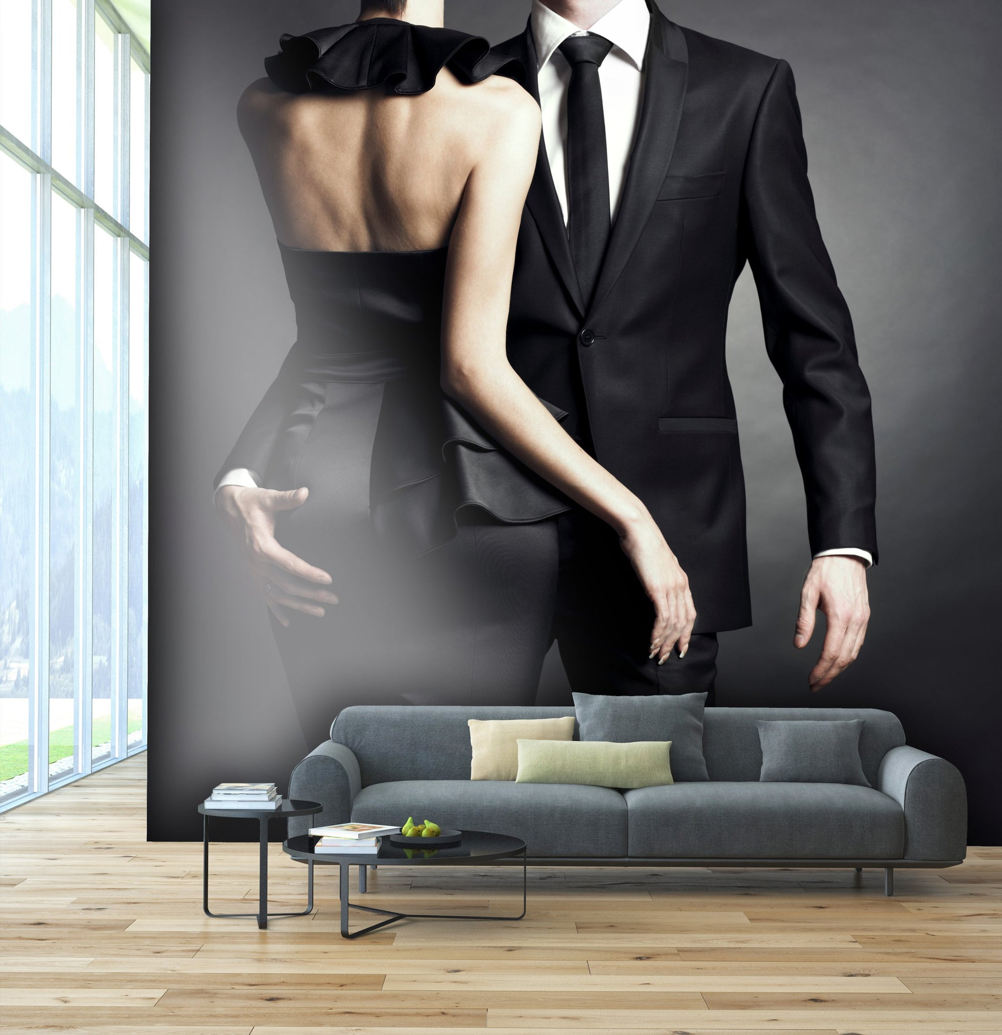Wallpaper Young elegant couple SW138