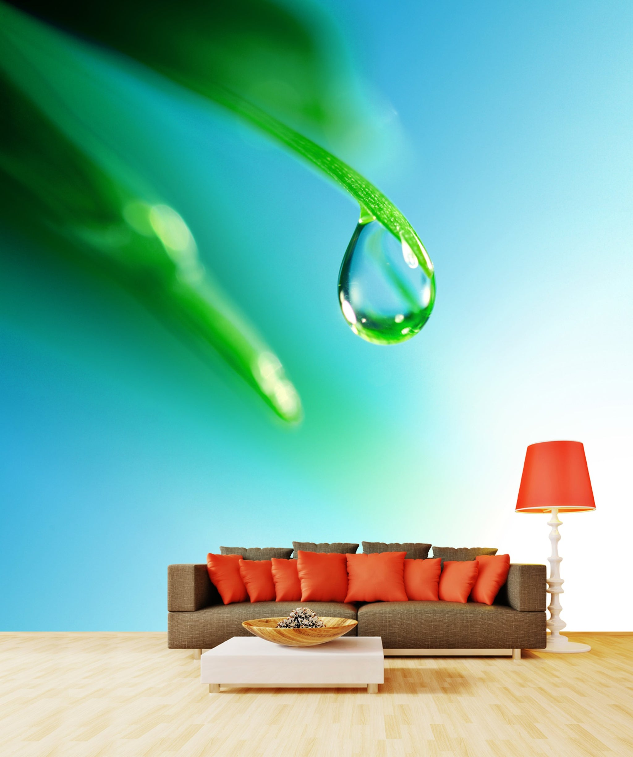 Wallpaper Shine water drop SW217