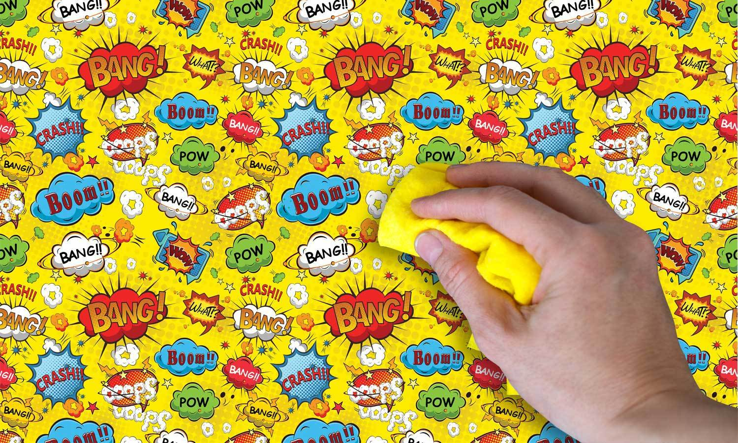self-adhesive film for furniture - Comic Pop Art  PAT084