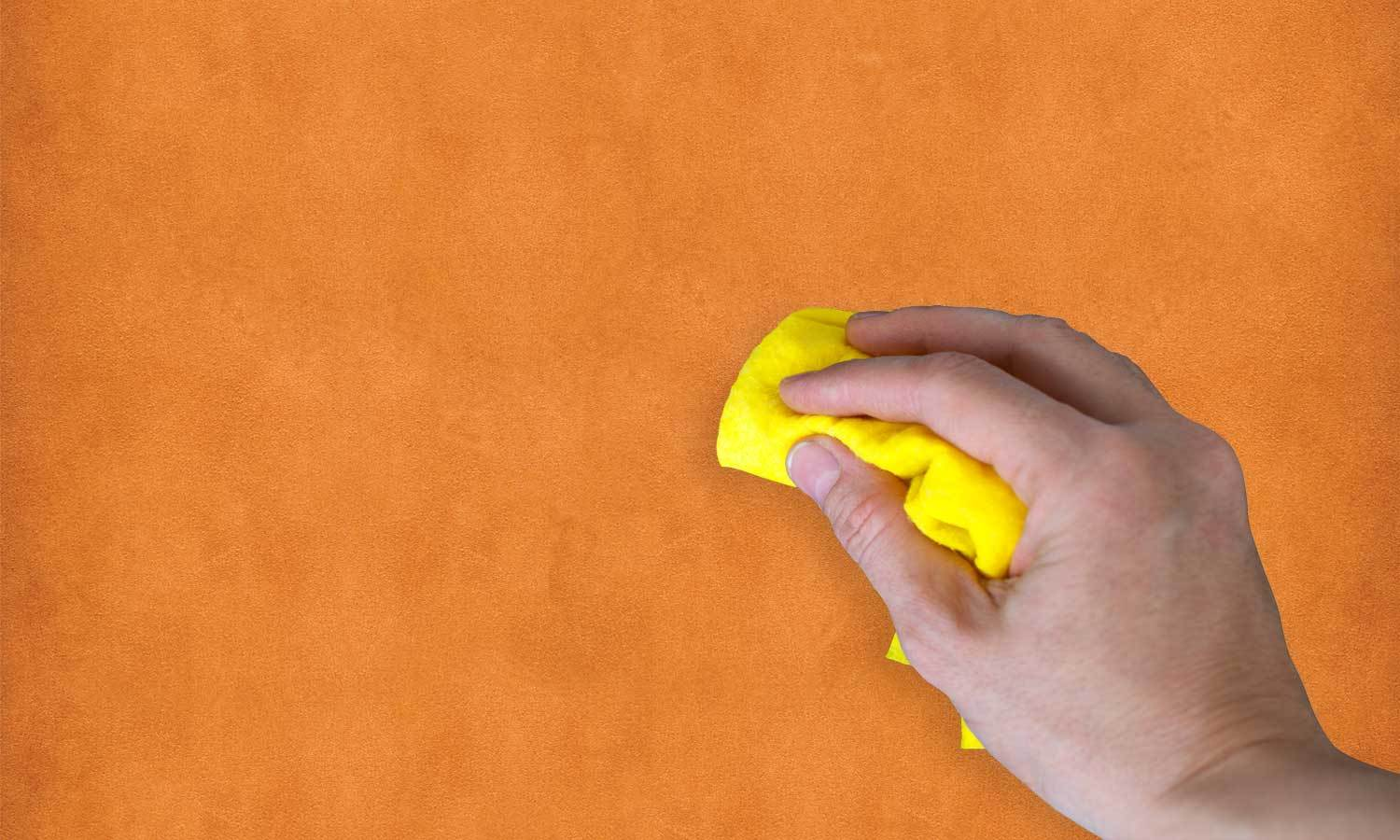 self-adhesive film for furniture - Orange leather  PAT095