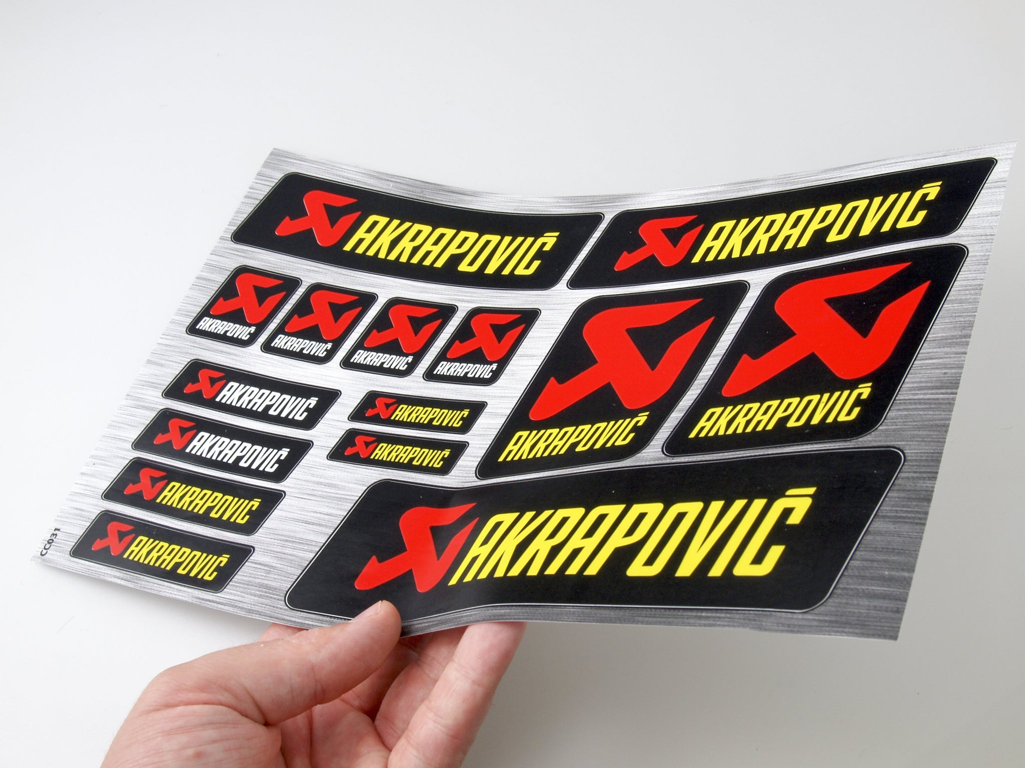 Akrapovic sticker for motorcycle CC031 - Art Life Decor