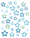 Stars - Windows decoration WL042