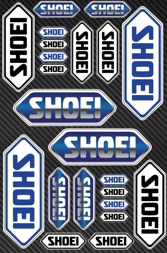 Shoei  sticker for motorcycle
