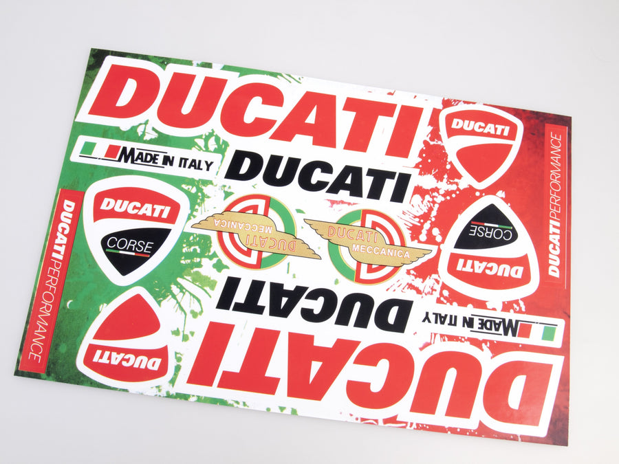 Ducati sticker for motorcycle - Art Life Decor