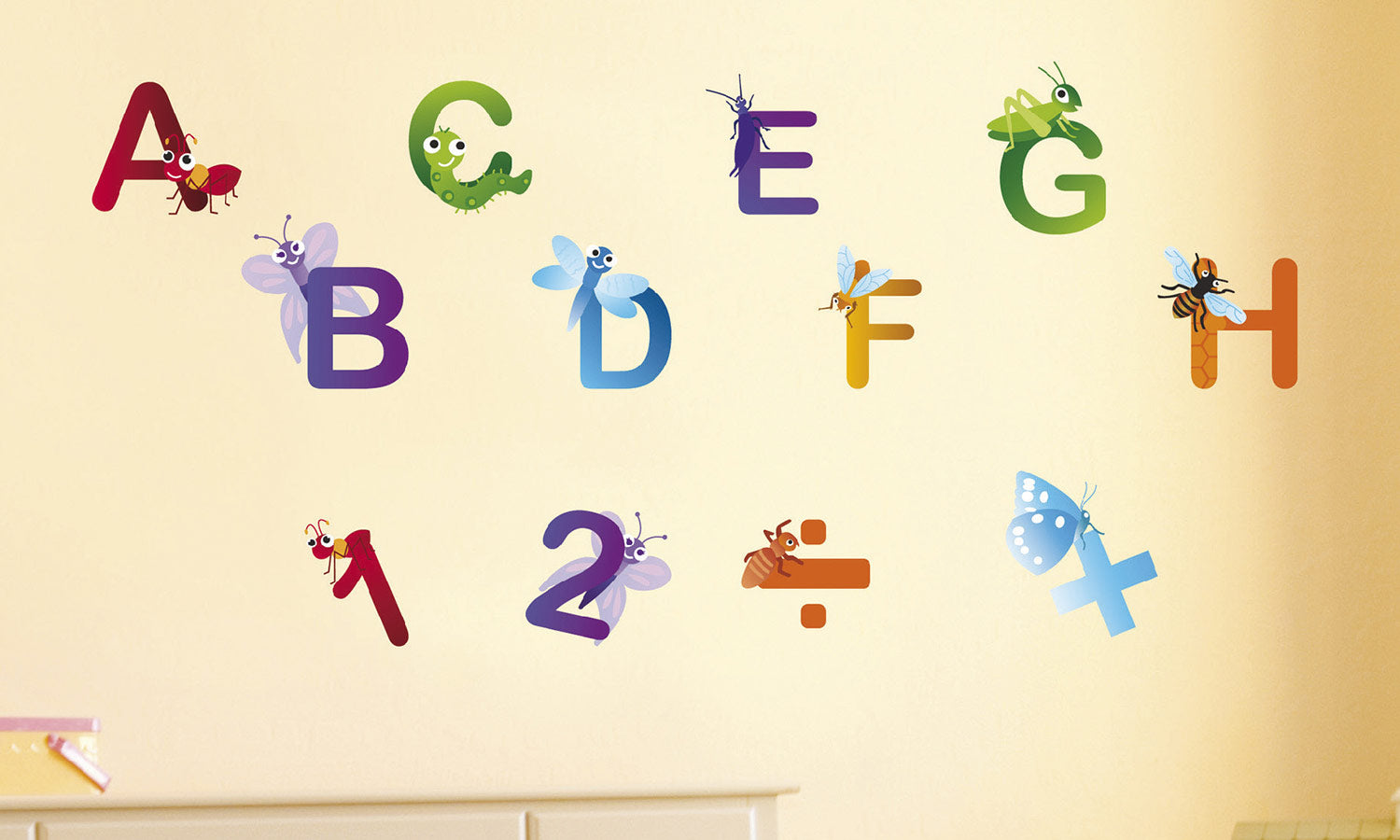 Wall stickers Letters - WS024
