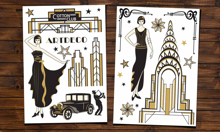 Wall stickers Art Deco - WS076