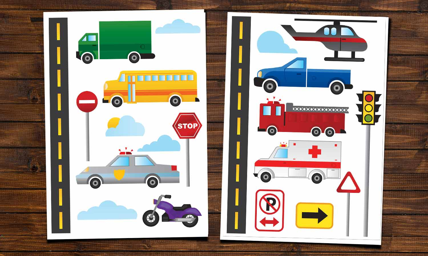 Wall stickers Cars and Trucks - WS017