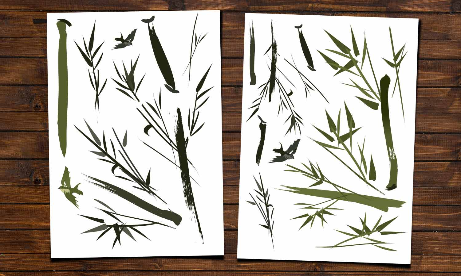 Wall stickers Bamboo - WS062
