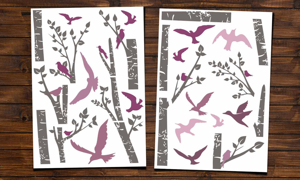 Wall stickers  Bird and tree - WS085