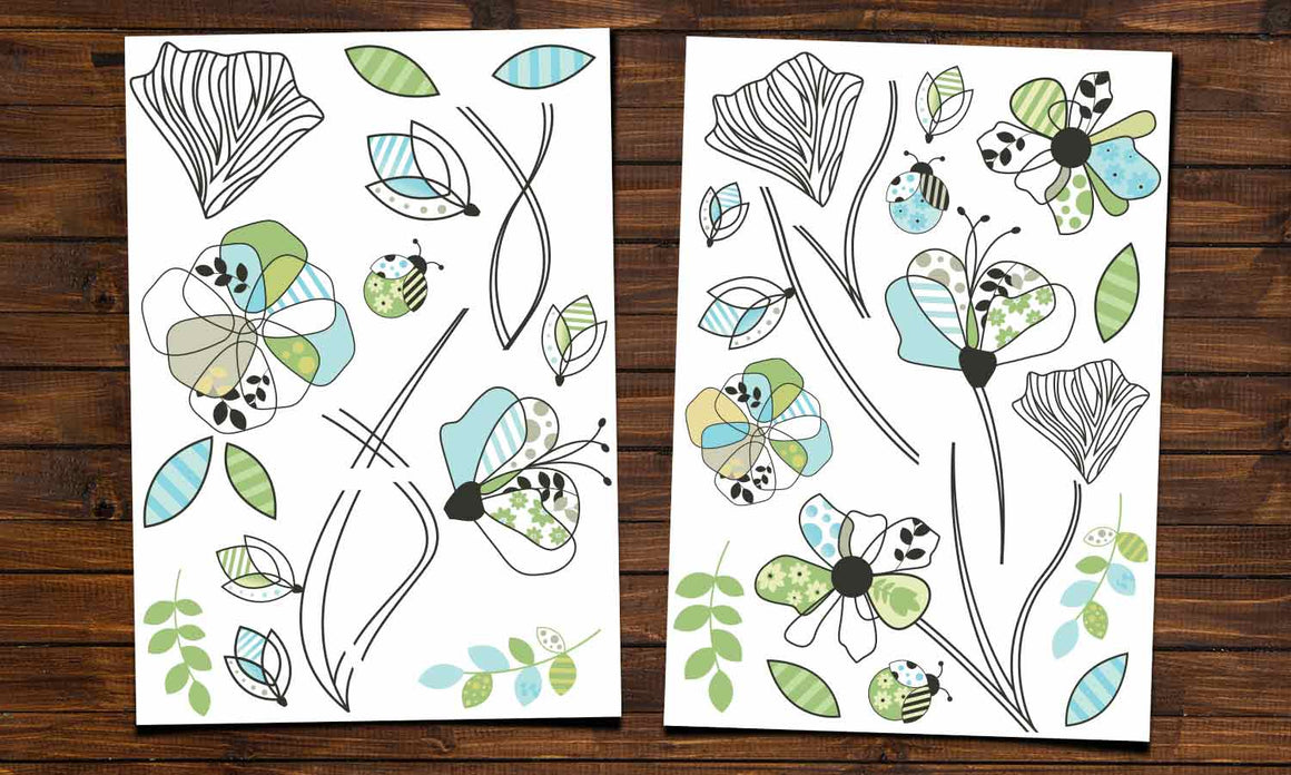Wall stickers  Flowers - WS052