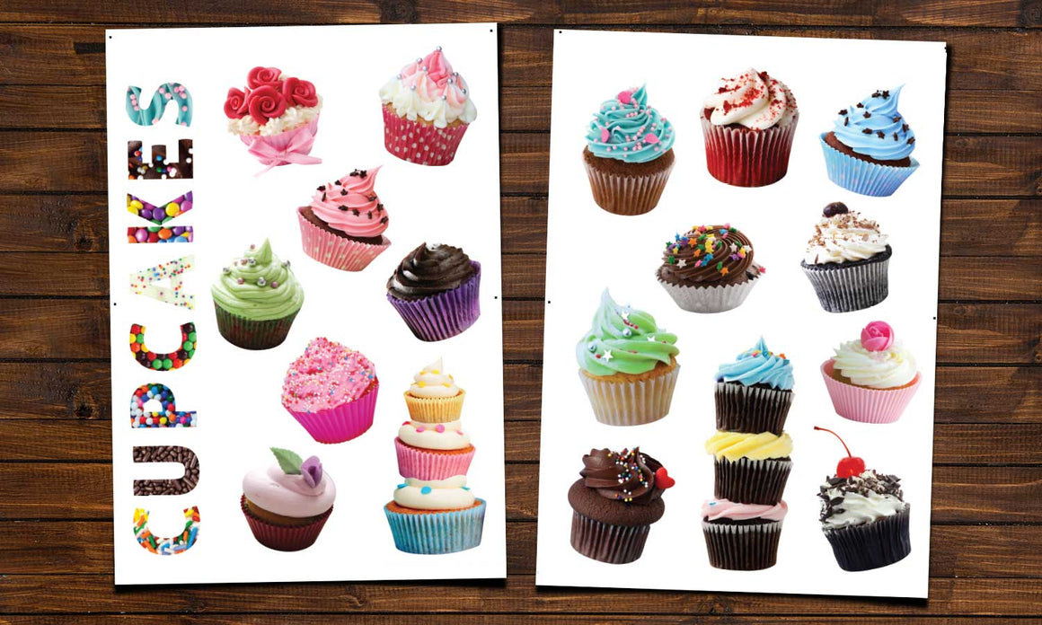 Wall stickers Cupcakes - WS057