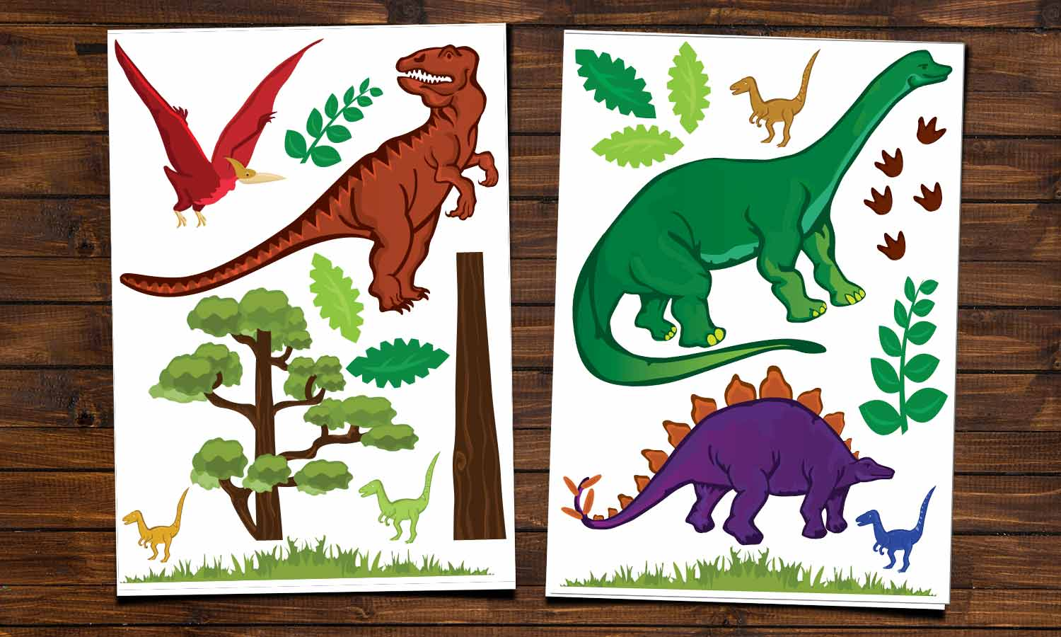 Wall stickers Dinos - WS004