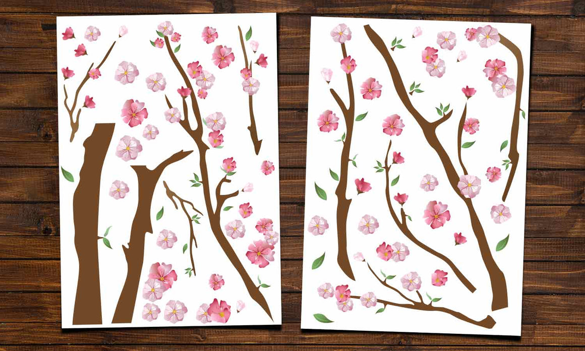 Wall stickers Cherry Blossoms - WS047