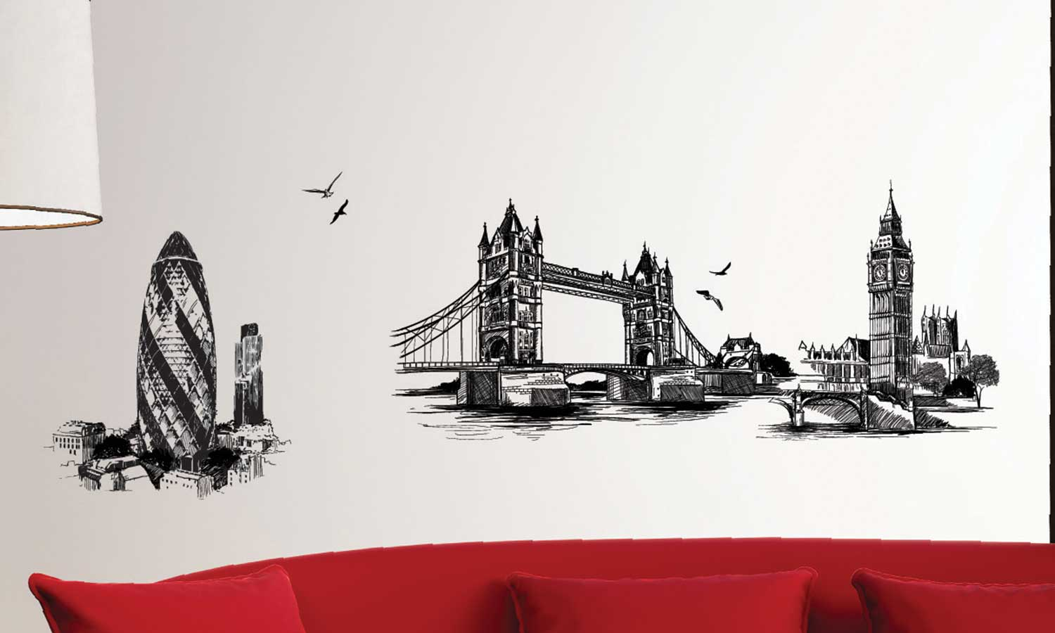 Wall stickers London Bridge - WS093